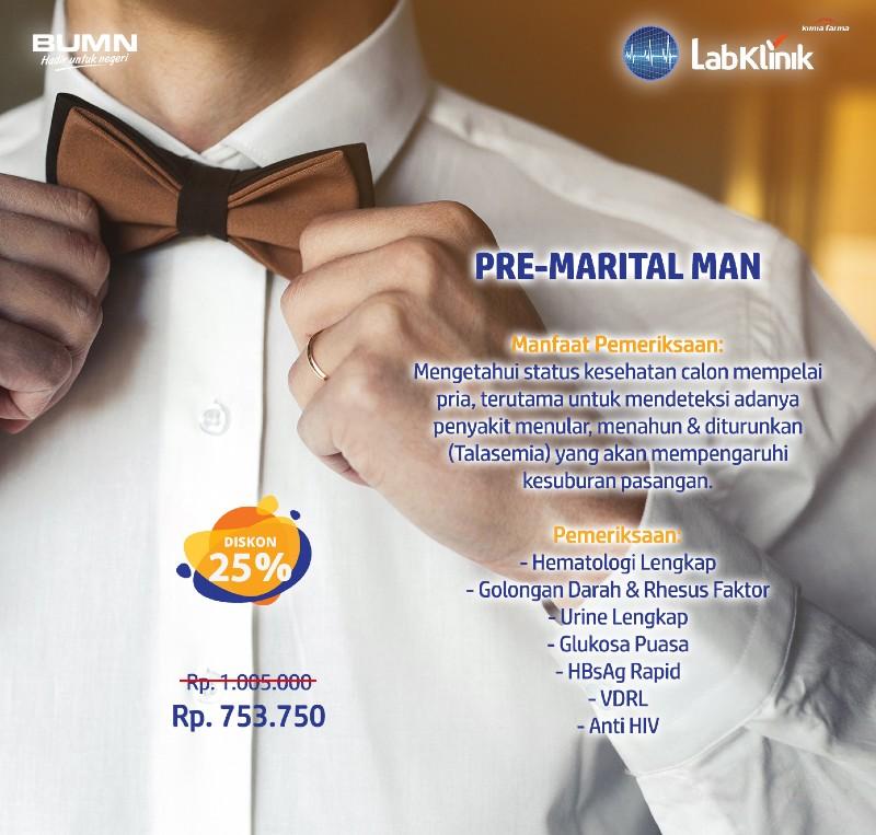 Promo Pre-Marital Man