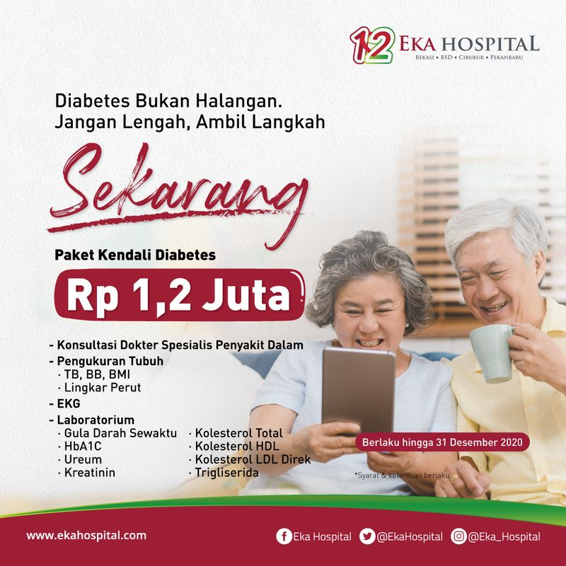 Paket Kendali Diabetes - Eka Hospital