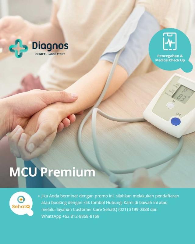 Paket Medical Check up Premium - Lab Diagnos