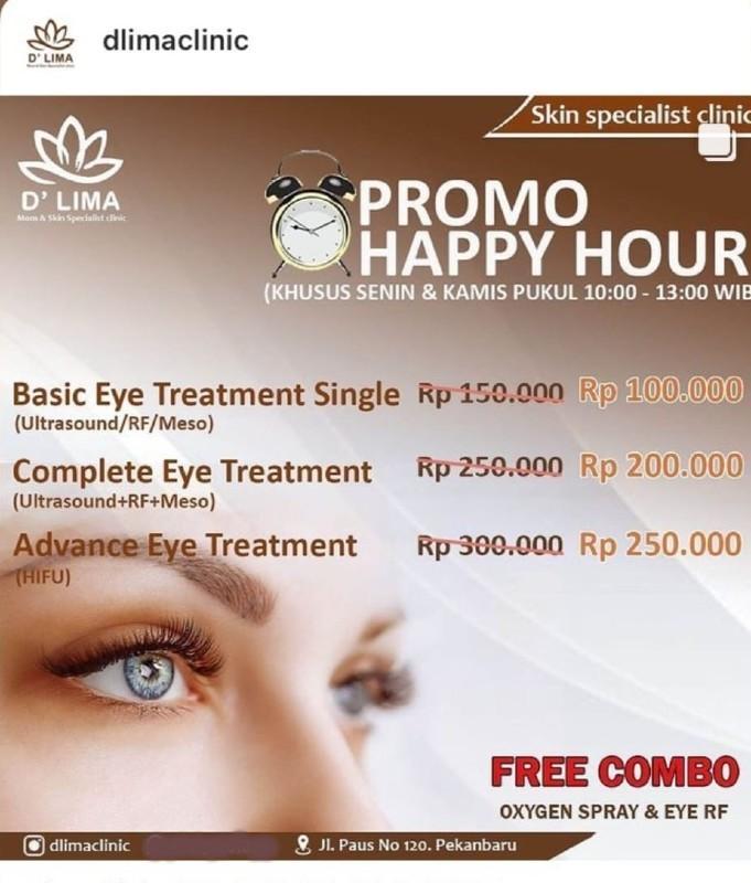 Basic Eye Treatment Single - D'Lima Clinic