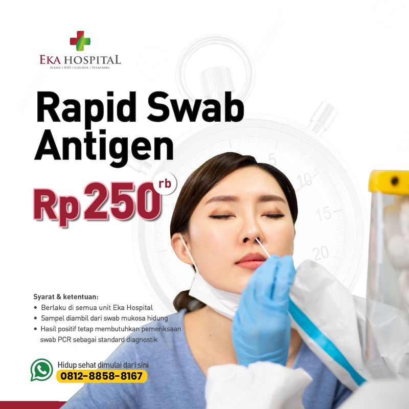 Rapid Swab Test Antigen COVID-19 - Eka Hospital